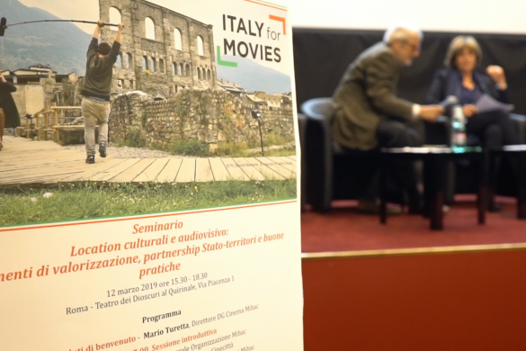 Location culturali e audiovisivo, incontro tra MiBAC e Film commission